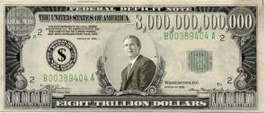 Eight Trillion Dollar Federal Deficit Note