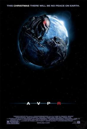 Aliens Vs Predator 2 Movie Poster