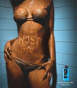 Body Wash ad