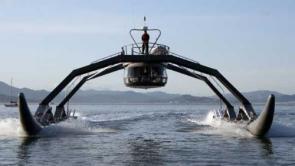 Crazy boat