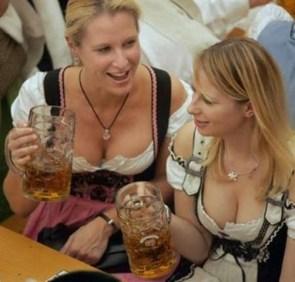 Drei bier, bitte!
