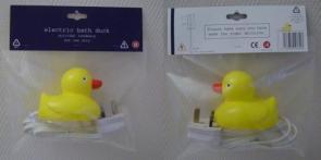 Electric Bath Duck
