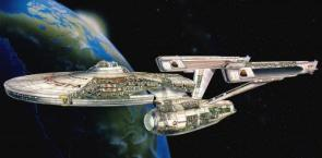 Enterprise A Cutaway Wallpaper