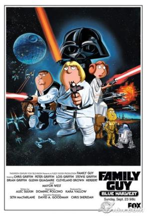 Family Guy's Star Wars Movie Poster
