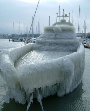 Frozen Yacht