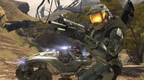 Halo 3 Warthog and Master Chief Wallpaper