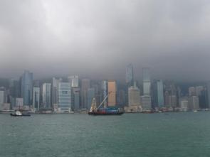 Hong Kong skyline wallpaper