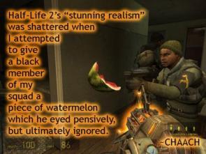 Half-Life 2 Is Nonrealistic