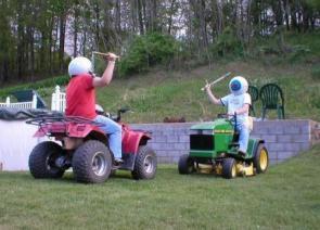 Lawn Battle!