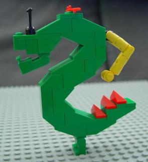 Trogdor Lego