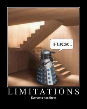 Limitations – Everyone has them