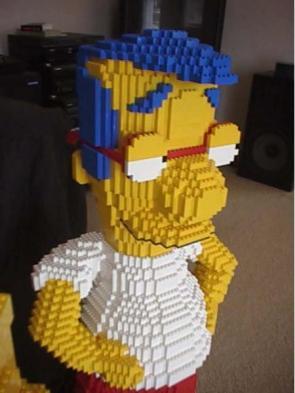 Milhouse In Lego