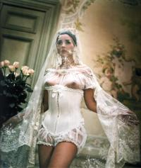 monica bellucci as a sexy bride