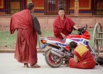 Monks And Motorcyle