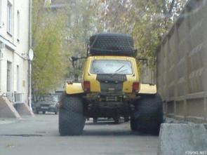 Monster Wheel Buggy
