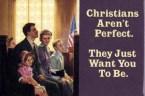 Christians aren't perfect.