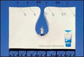 Ponds Pore Cleaner Advertisement
