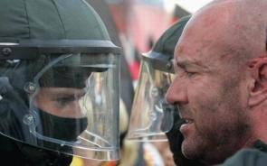 Rioter Vs Riot Police
