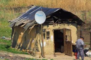 satellite hut