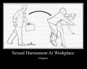 Sexual Harrasment At Workplace – It Happens