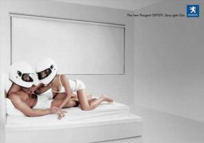 Sexy Gets Fast – Peugeot Advert