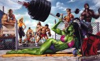 She Hulk Works Out