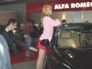 Car Show Upskirt Snapshot