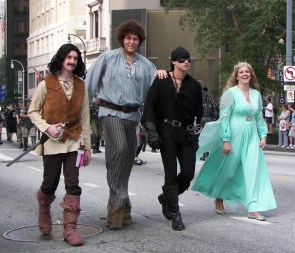 The Princess Bride Cosplayers