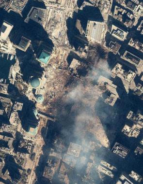 Ground Zero Satellite Photo