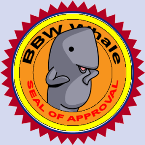 BBW Whale – Seal of Approval