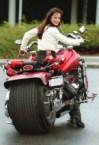 Fat Wheel Motorcycle