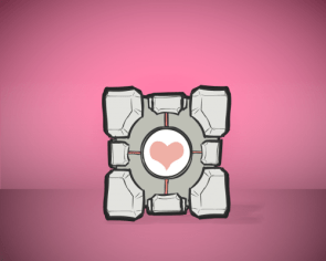 Companion Cube Wallpaper