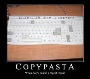Copy Pasta Keyboard