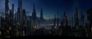 Star Wars Coruscant Panoramic