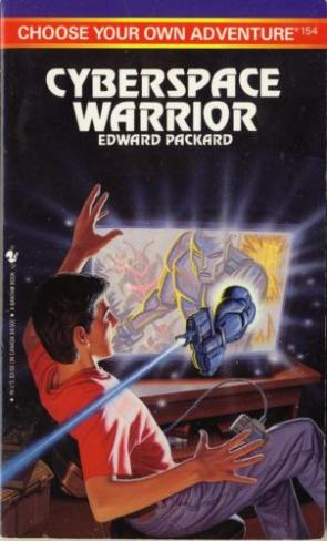 Cyberspace Warrior Choose Your Own Adventure