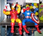 Drunk Iron Man And Captain America