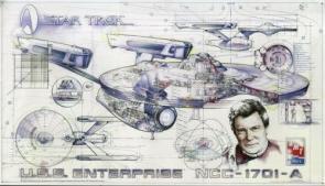 Enterprise A Cutaway Wallpaper 2