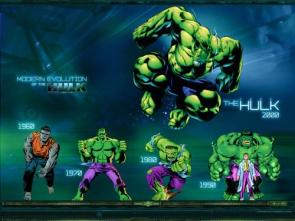 Evolution Of The Incredible Hulk