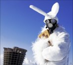Gas Mask Bunny