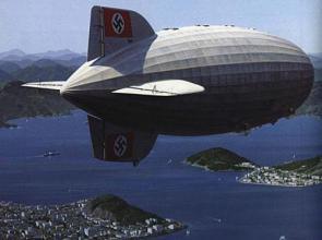 German Nazi Airship