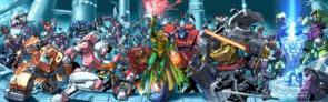G.I. Joe Vs Transformers MEGA Wallpaper