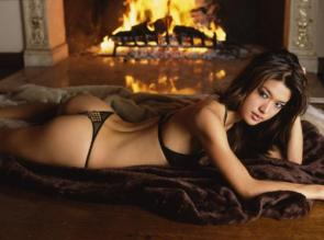 NSFW – Grace Park In Front Of A Fire