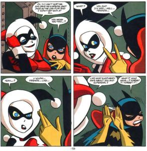 Harley and Batgirl