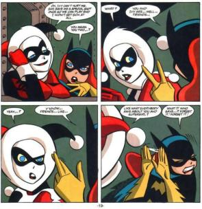 Harley and Batgirl