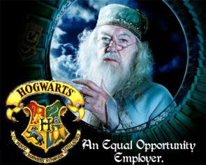 Hogwarts – An Equal Opportunity Employer