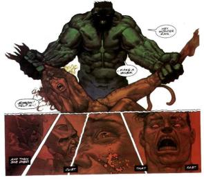 The incredible hulk is a killer