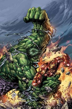Incredible Hulk Vs Iron Man