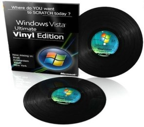 Windows Vista Vinyl Edition