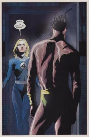 Invisible Woman Is Married