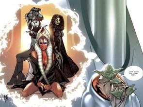 Yoda Dreams of Jedi babes